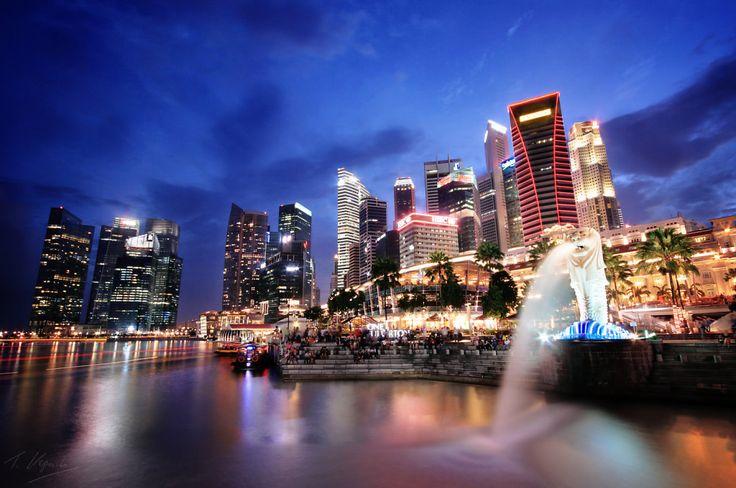 Singapore. The Fine City.