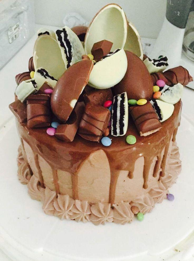 Layer cake Kinder Bueno Kinder Bueno's Pinterest