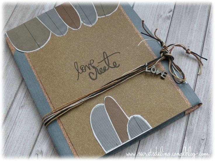 Flipbook love create kraft gris #secretsdelina