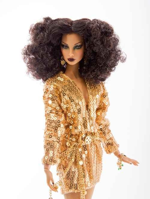 "AvantGard 12"" cloneLive WireThe Jason Wu Event VI: Events Vi, Living Wire, Black Barbie, Beautiful Dolls, Fashion Dolls, Barbie Dolls, Dolls Chronicles, Black Dolls, Wu Events"