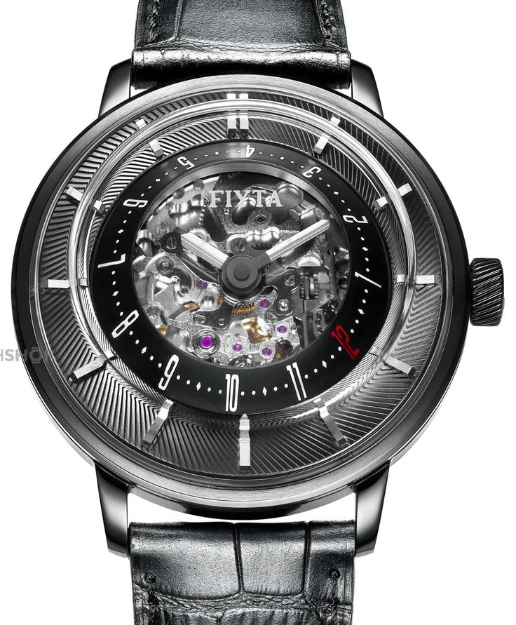 FIYTA Extreme 3D Skeleton Limited Edition Automatic Watch GA8606.BBB