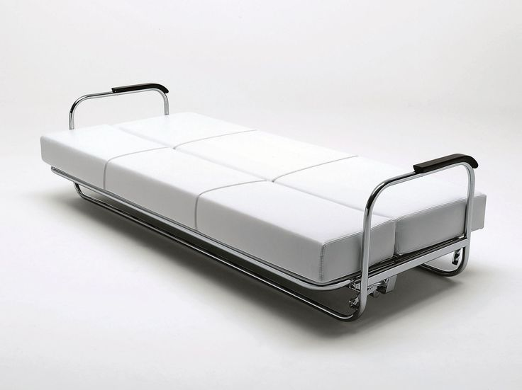 Canapé-lit en tissu avec revêtement amovible AA1 Collection Atelier by MisuraEmme | design Alvar Aalto