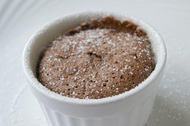 Schokoladensouffle aus dem Dampfgarer