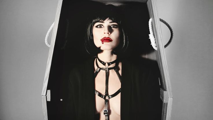 SEXY VAMPIRE. Creative and easy last minute DIY JAKIMAC halloween costumes. Check out our site to slay this halloween. #DEAD #VAMPIRE #LEATHER #JAKIMAC #ORINGCOKER #CHOKER #HALLOWEEN #COSTUME #COSTUMEINSPO #LASTMINUTE #DIYHALLOWEEN #BLOODYMARY #MAKEUP #ACCESSORIES #BURYMEINLEATHER. #FRESHBLOOD #FASHION #DESIGN #HALLOWEENSALE #BLOOD #SOPHISTICATED #SKULLS #BONES  #SLAY #SEXY