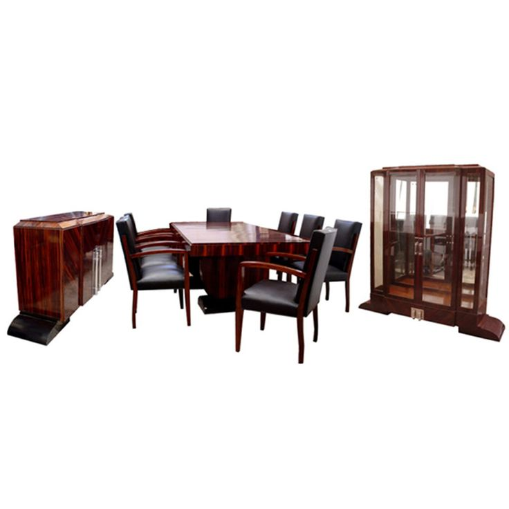 54 best art deco dining tablesdining chairsbuffets images on