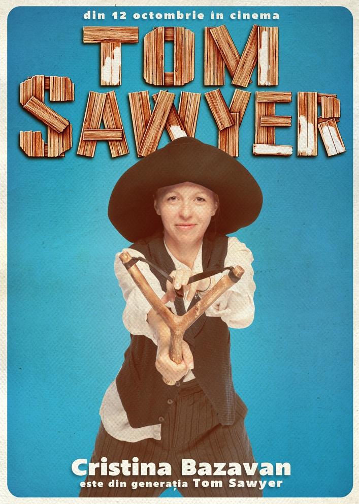 Cristina Bazavan susține campania Generația Tom Sawyer