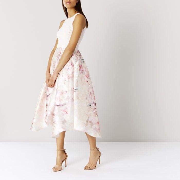 Dynamite Coast Orsay Floral Midi Dress 1744098 - Multi Going For £95.1 Now | Coast Wedding | Coast Wedding Guest Outfits | COAST