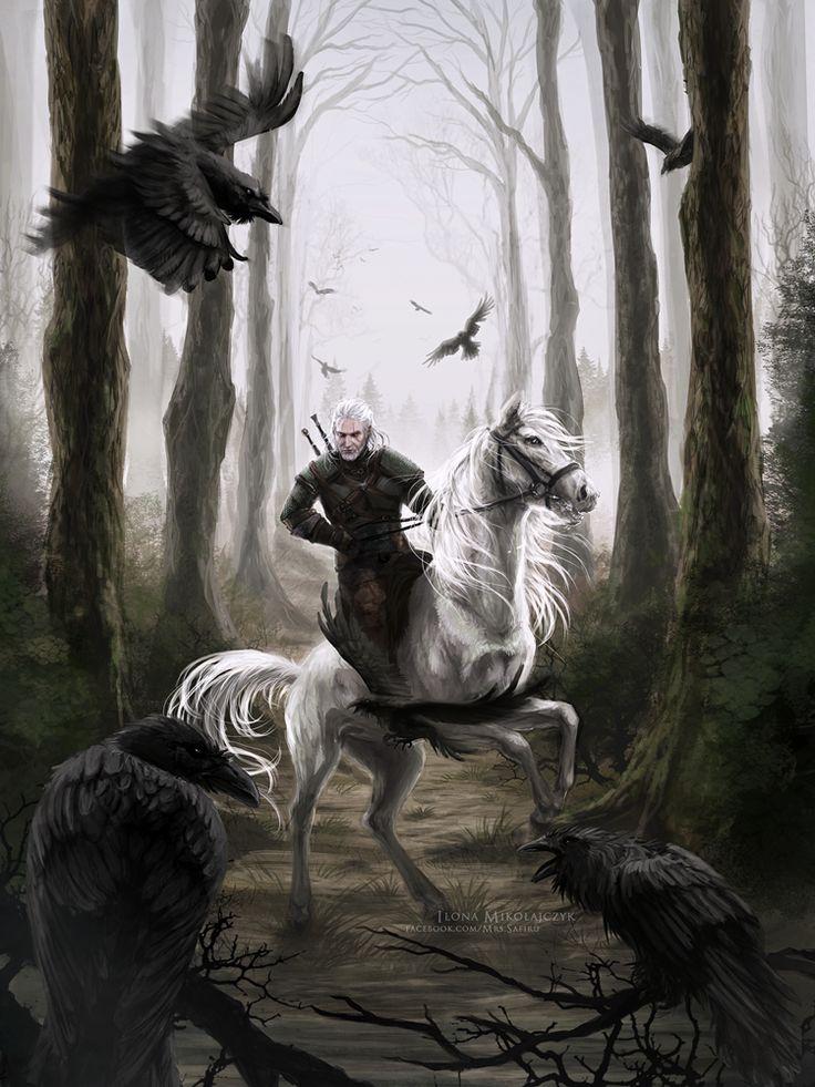 The Witcher. by Safiru.deviantart.com on @DeviantArt