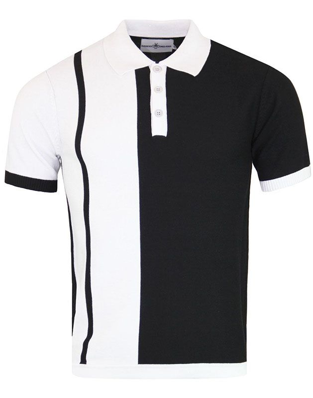 6fa57478 Capone Ska Two Tone Polo by Madcap England - SALE sz 42/XL only in ...