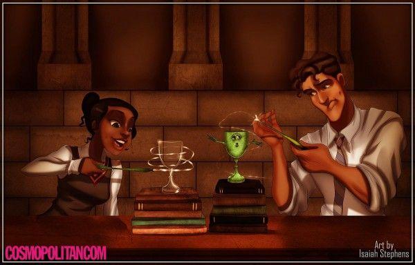 Et si les personnages de Disney avaient été à Poudlard ? Par Isaiah Stephens