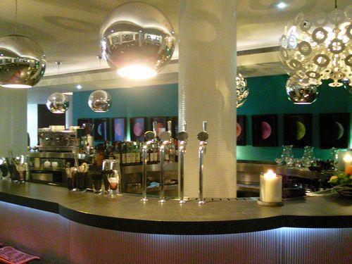 Bar at Hotel Missoni in Edinburgh: http://www.europealacarte.co.uk/blog/2011/12/13/missoni-edinburgh/