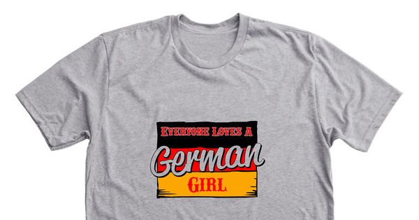 German Girls Rules - Grab your limited edition German Girls Rules merchandise before the campaign closes. Featuring Dark Heather Grey Premium Unisex Tees, professionally printed in the USA.