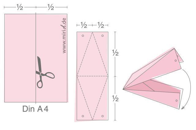 Первый, подставка для открытки оригами