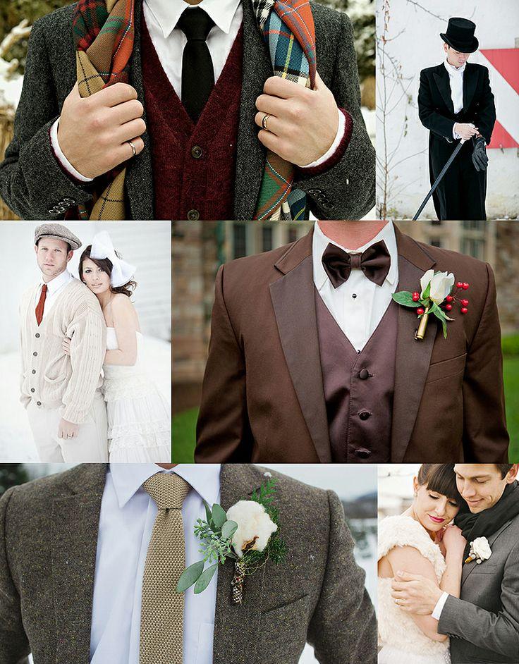 Marry Christmas! ~ Winter Groom Accessories