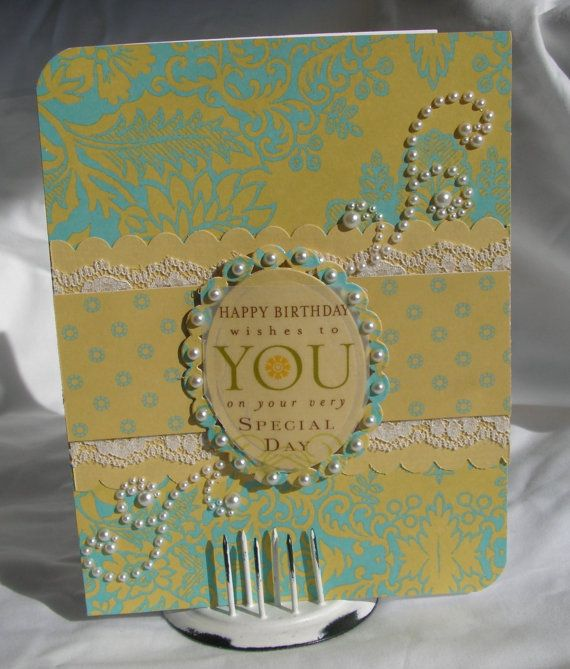 Very Special Birthday Wishes Greeting Card by #PlaysNicelyWithPaper, $5.00