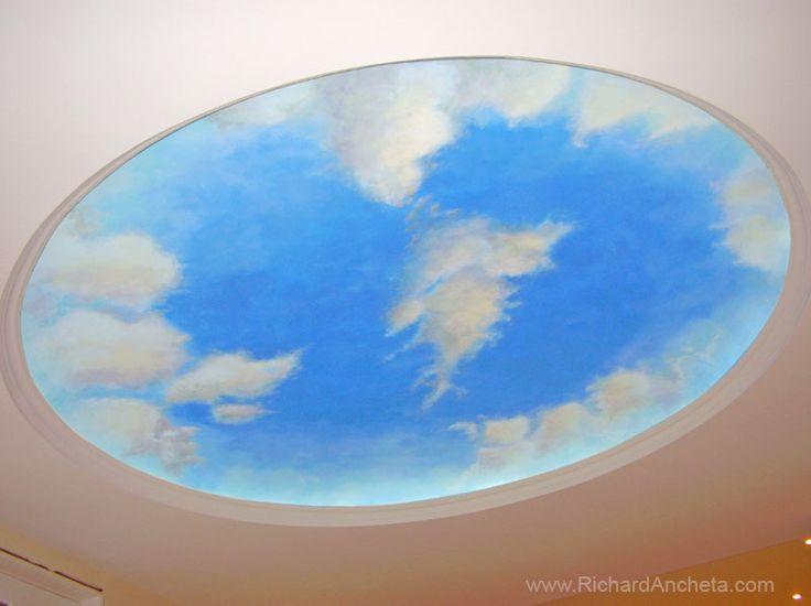 27 Best Cloud Ceilings Images On Pinterest Cloud Ceiling