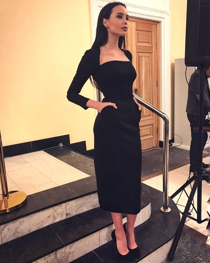 Черное Платье Инстаграм