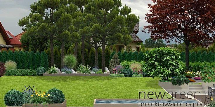Portfolio   NewGreen projektowanie ogrodów   architektura krajobrazu