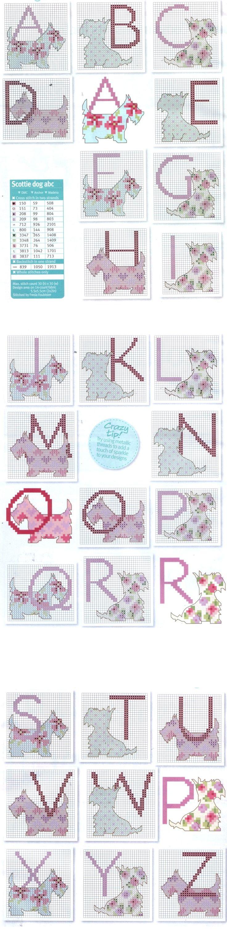 borduren letters