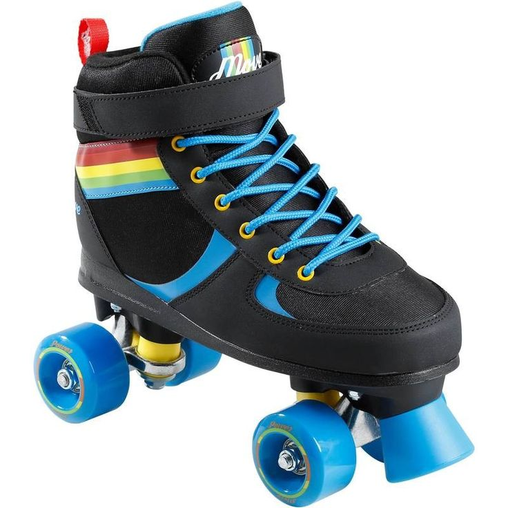 GROUPE 5 Trottinette, skate, roller... - Quad Power Rainbow MOVE - Rollers