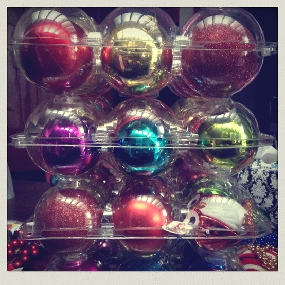 Costco Apple Containers For Ornament Storage