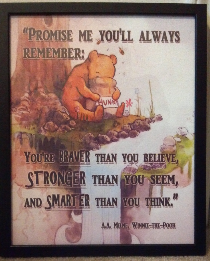 Winnie The Pooh Quote If Ever There Is A Tomorrow: 376 Best Images About Winnie The Pooh On Pinterest