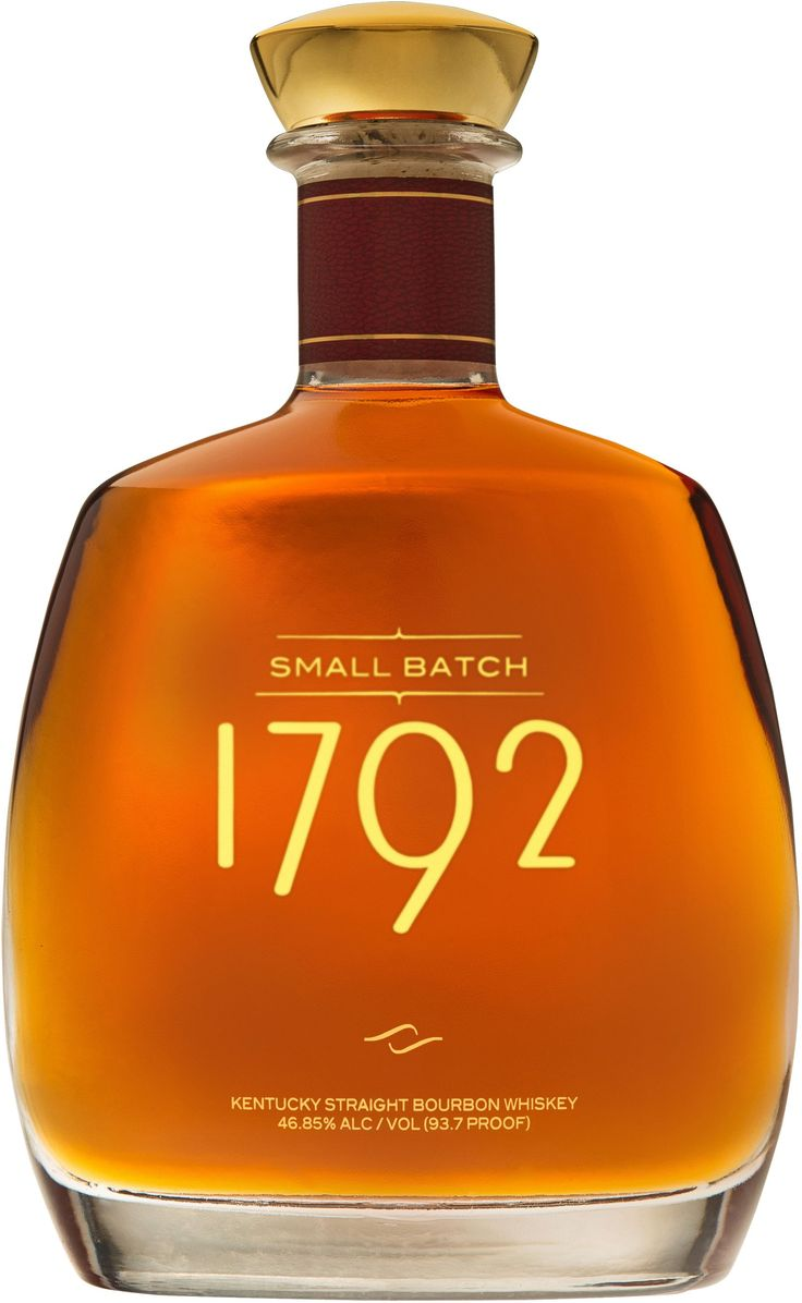 1792 Small Batch Kentucky Straight Bourbon Whiskey | @Caskers This bourbon earned a score of 95 points, tying Pappy Van Winkle's 23 Year Old Bourbon, at the Ultimate Spirits Challenge in 2012.