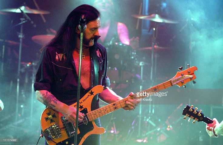 Lemmy Kilmister of Motorhead during Camp Freddy Benefit Concert for South East Asia Tsunami Relief at Key Club in Hollywood, California, United States. (Photo by Jeff Kravitz/FilmMagic, Inc)