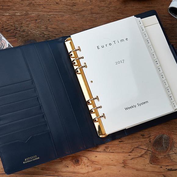 ANTORINI Luxury A5 ring diary