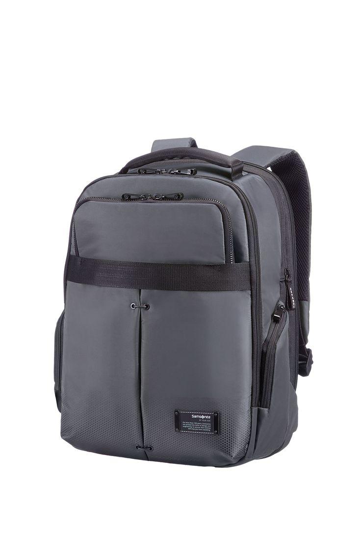 "CityVibe Ash Grey Laptop Backpack 13"" - 14"" #Samsonite #CityVibe #Travel #Suitcase #Luggage #Strong #Lightweight #MySamsonite #ByYourSide"
