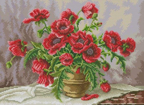 Gallery.ru / Фото #7 - цветы схемы есть - vilar2000