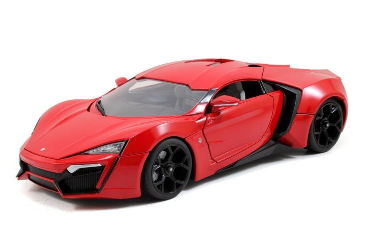 """- Scale: 1:18 - Exterior Color: Red - Open Hood, Doors, Trunk - Size approximate Length: L-9.5"""""""
