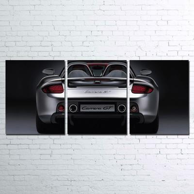 Porsche Carrera GT Silver 3 Piece Canvas   Paragon Apparel