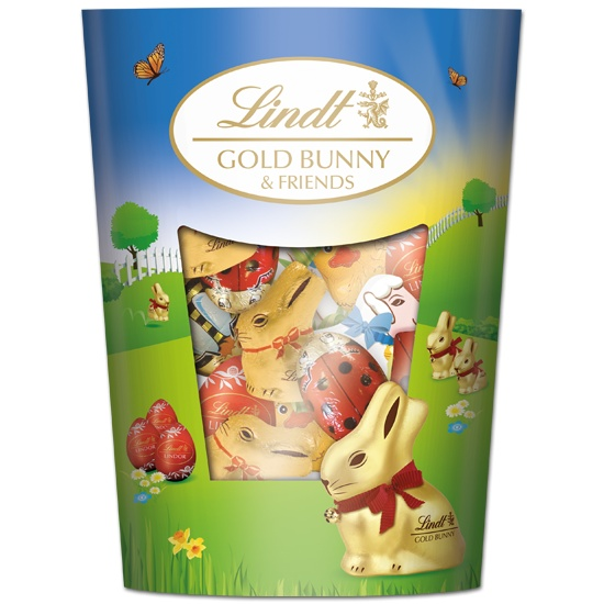 Gold Bunny & Friends Share pack #WinEasterChocolateWithLindt