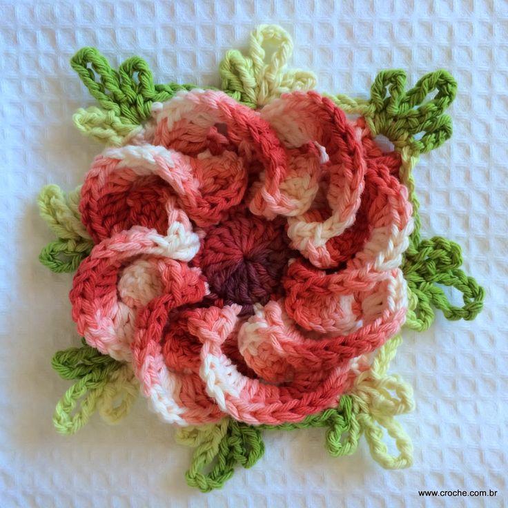 Passo a passo - Croche.com.br