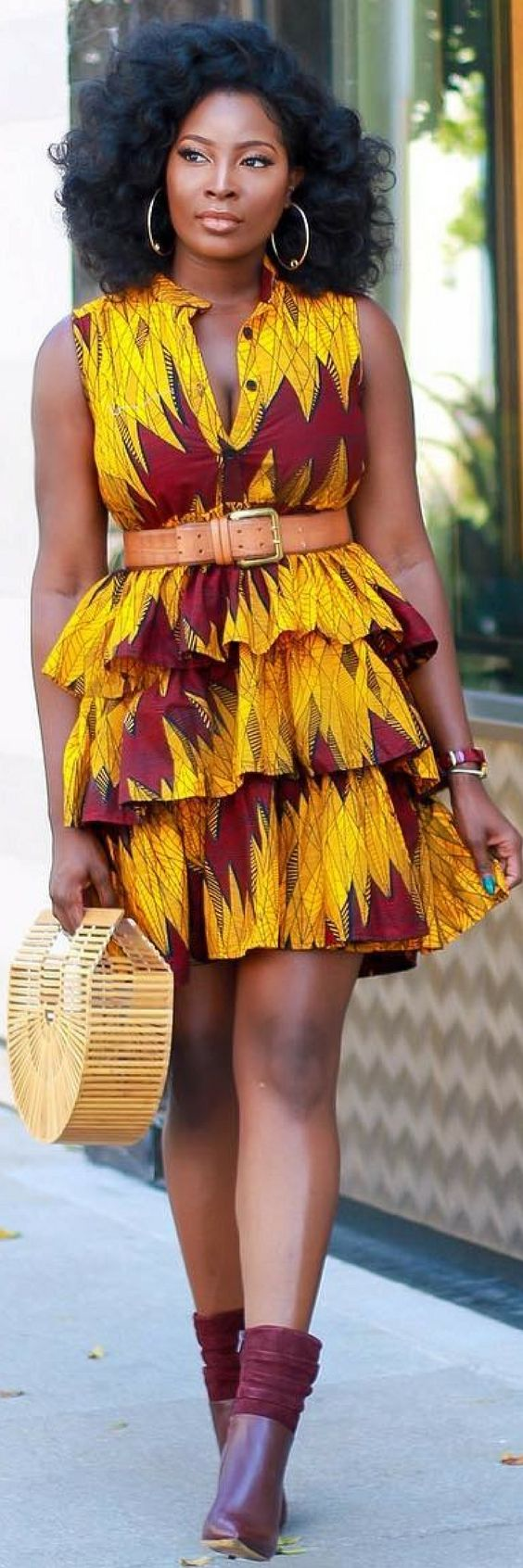 Nigerian fashion styles for women - 3 Of The Best African Print Outfits To Complete Your Wardrobe