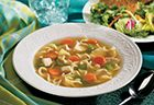 Campbell's Hearty Homemade Chicken Noodle Soup Express Recipe