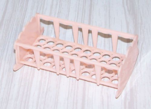 Vtg-Doll-House-Miniature-Allied-Baby-Nursery-Pink-Hard-Plastic-Cradle-Toy-Item