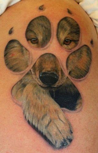 Tattoos - Petri Syrjälä - Wolf Paw