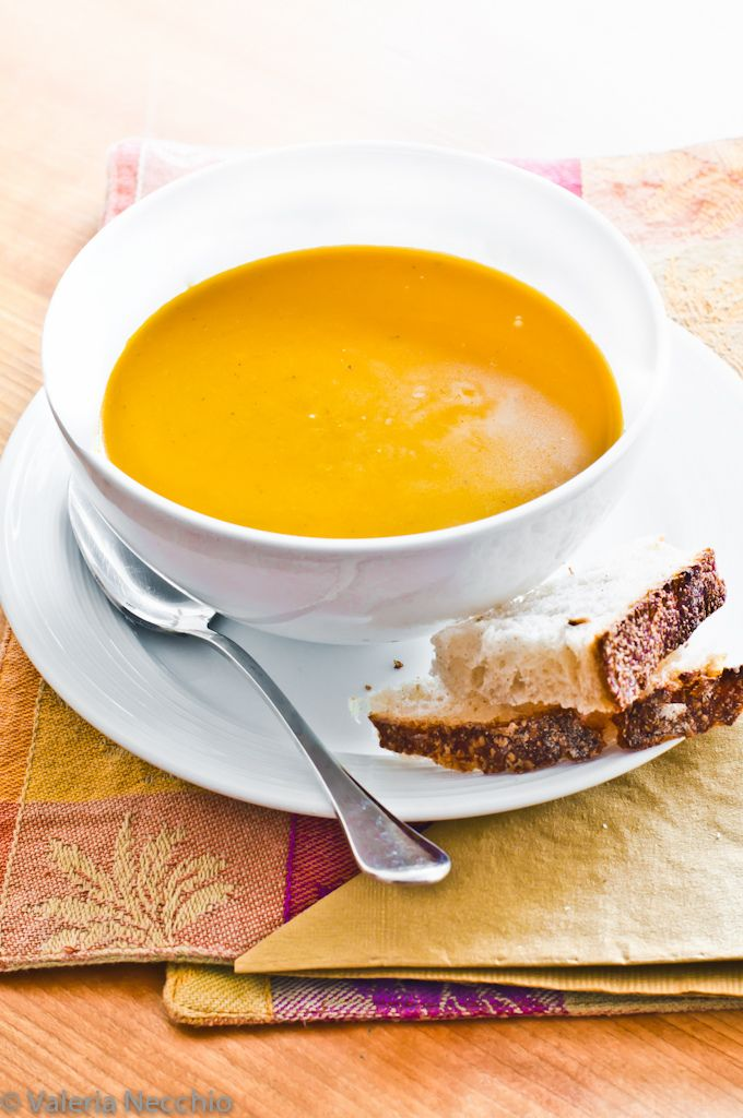 squash and cumin soup.