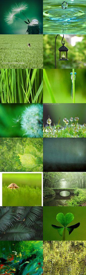 Green Beauties! by Ilona on Etsy--Pinned+with+TreasuryPin.com