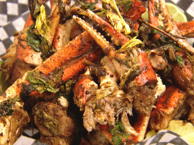 Jerk Crab from Chuck Hughes on CookingChannelTV.com