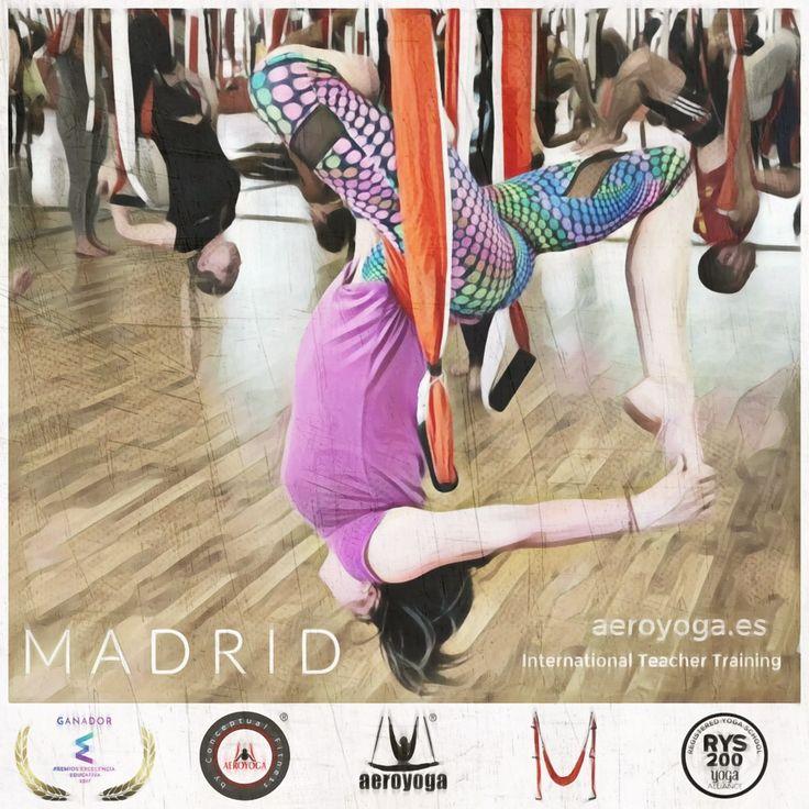 AEROYOGA FORMACION INTERNACIONAL, UNICA FORMACION EN YOGA Y PILATES AEREO QUE TE ACREDITA COMO PROFESOR AEROYOGA® Y AEROPILATES® INTERNATIONAL #AEROYOGA #AEROPILATES #WELOVEFLYING #yogaaereo #pilatesaereo #airyoga #aerialyoga #yoga #pilates #fitness #teacher #training #classes #aeroyogastudio #gym #tendencias #trending #exercice #ejercicio #swing #trapeze #acro #acrobatic #acrobacia #danza #silks #fisioterapia #medicina #aerea #salud #belleza #beauty #health