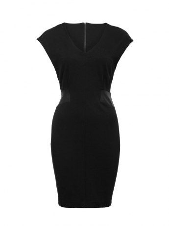 Brando Coated Ponti Dress- the perfect LBD.
