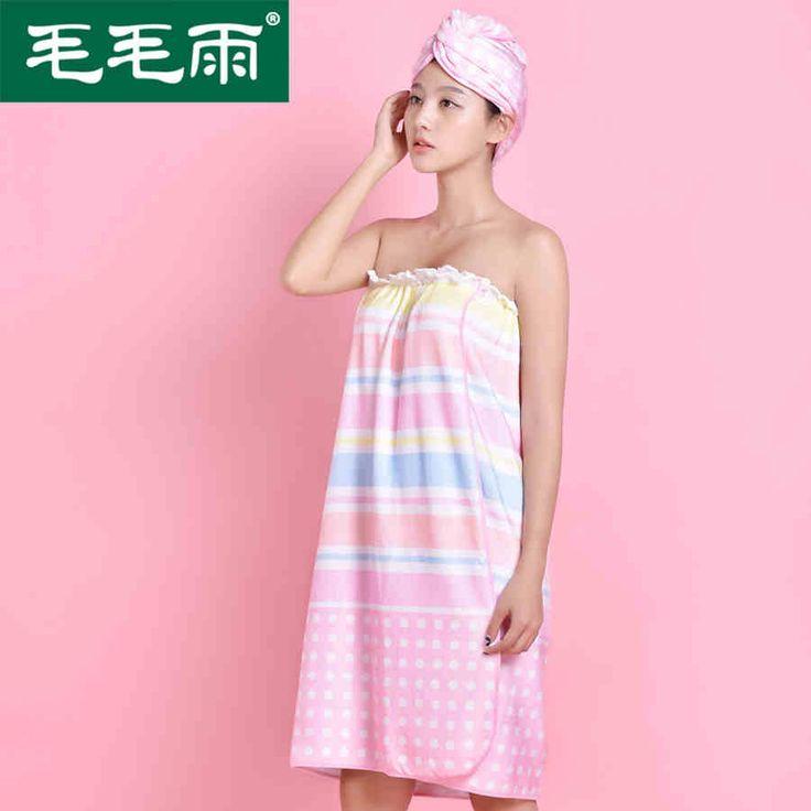 увеличение Полить может носить полотенце абсорбирующие ванны шапочка для душа юбка костюм женский полотенце сухих волос крышки полотенце бюстгальтеры -tmall.com Lynx