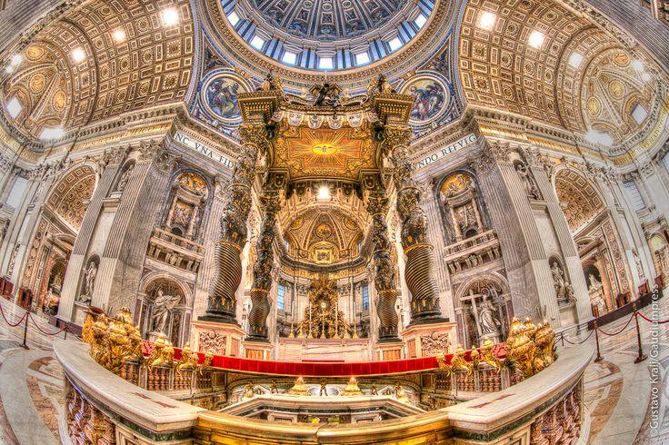 St Peter's Basilica on today's Gospel
