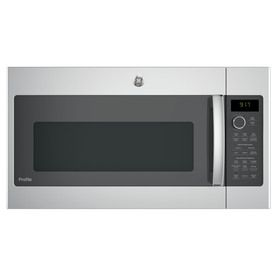Ge Profile Series 1.7-Cu Ft Over-The-Range Convection Microwave With Sensor Cooking Controls (Stainless Steel) (Common: