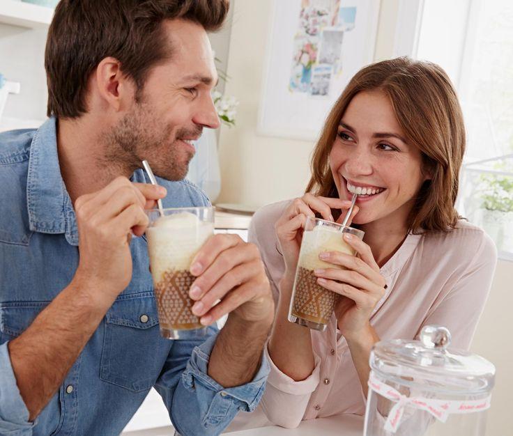 2 Latte-Macchiato-Gläser Tchibo