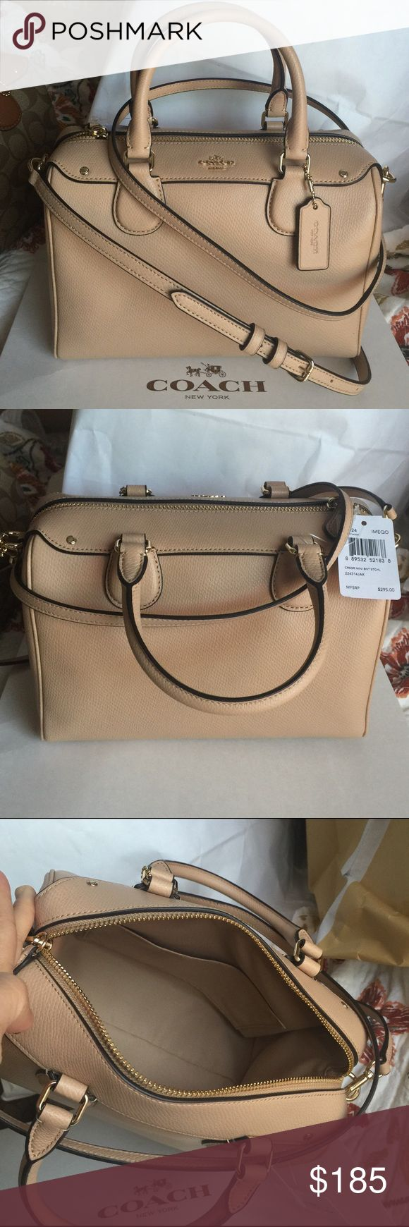 Coach Purse 100% Authentic Coach Purse, brand new with tag! Coach Bags Crossbody Bags