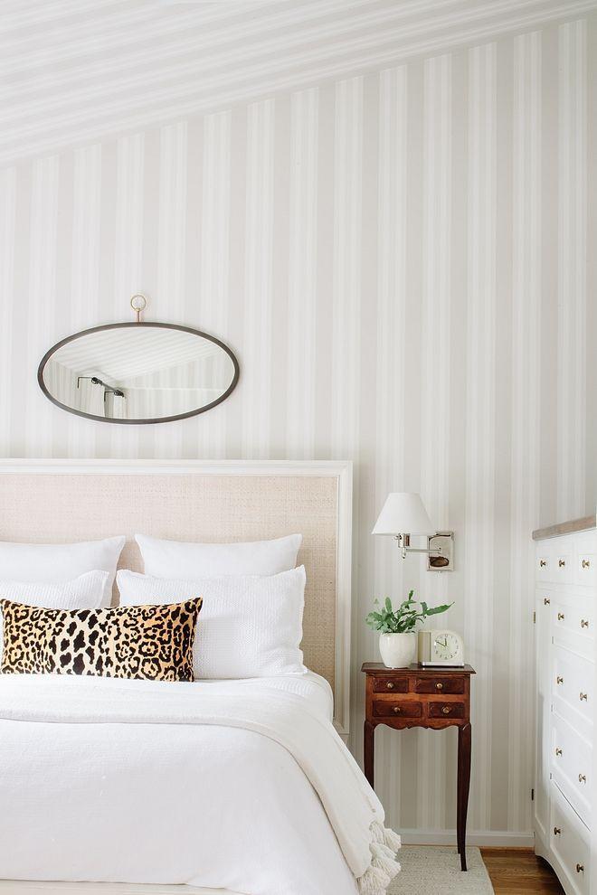 Light Grey Striped Wallpaper Wallpaper Is Polo Stripe 110 In Stone